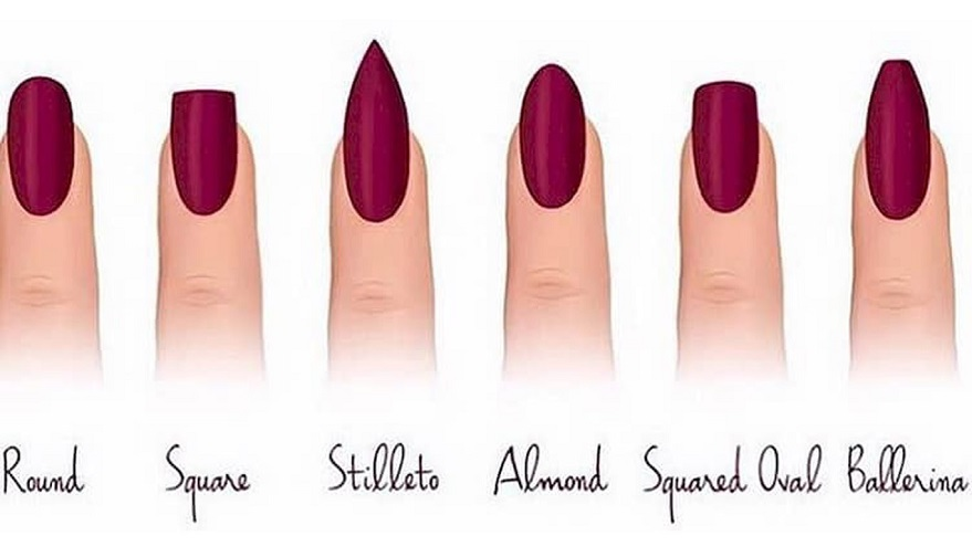 types of nail shapes